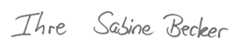 Sabine Becker sign